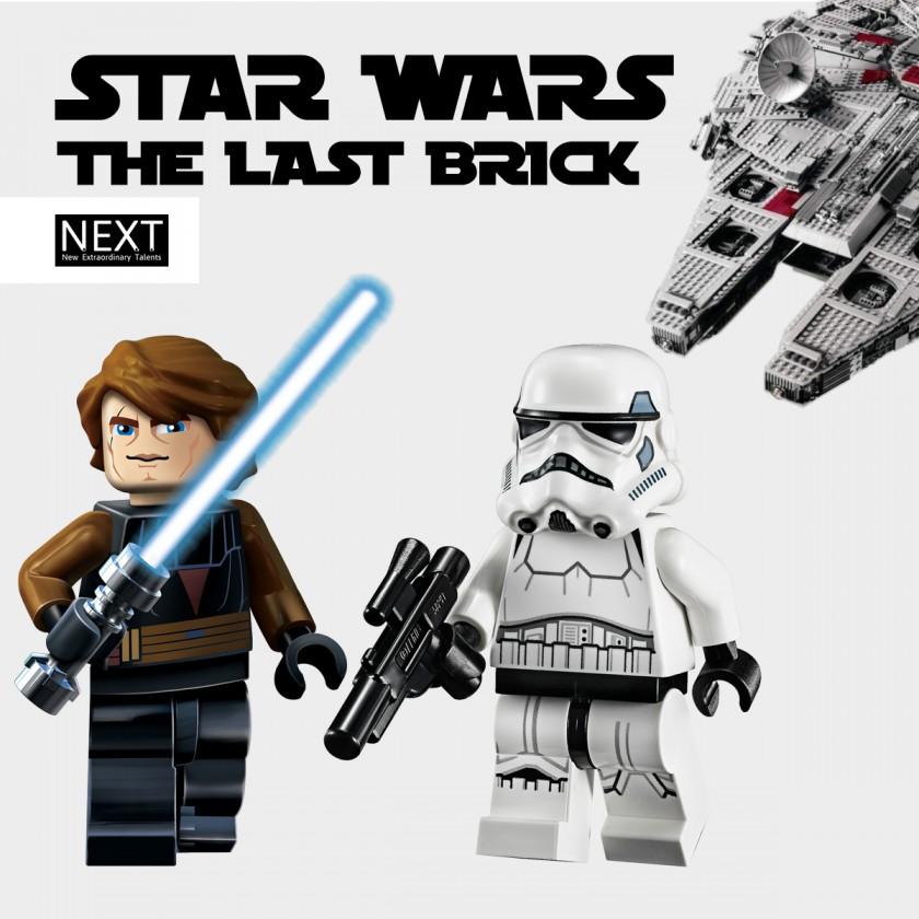 Star Wars the last brick: mostra mattoncini Lego®