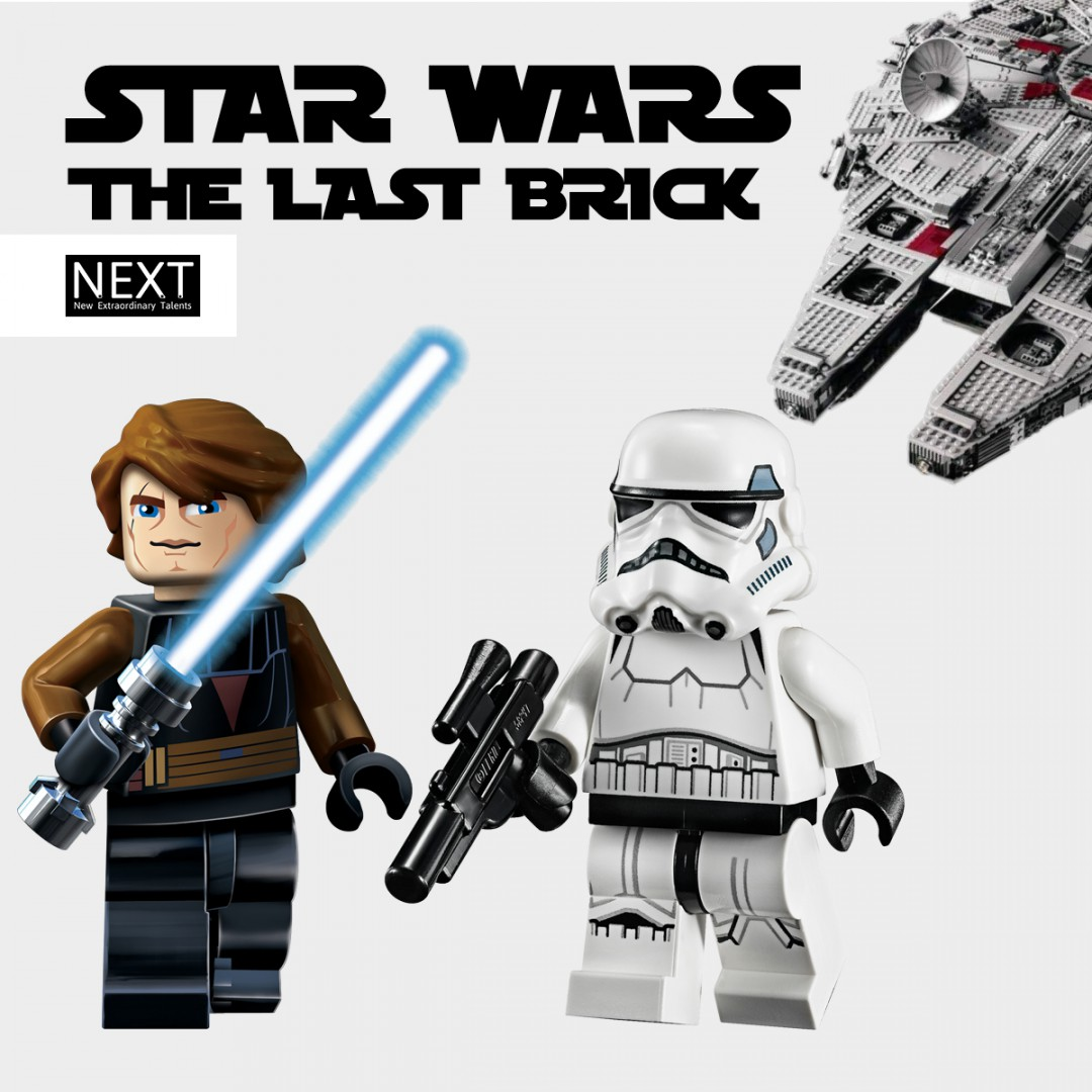 Star Wars the last brick: mostra mattoncini Lego®