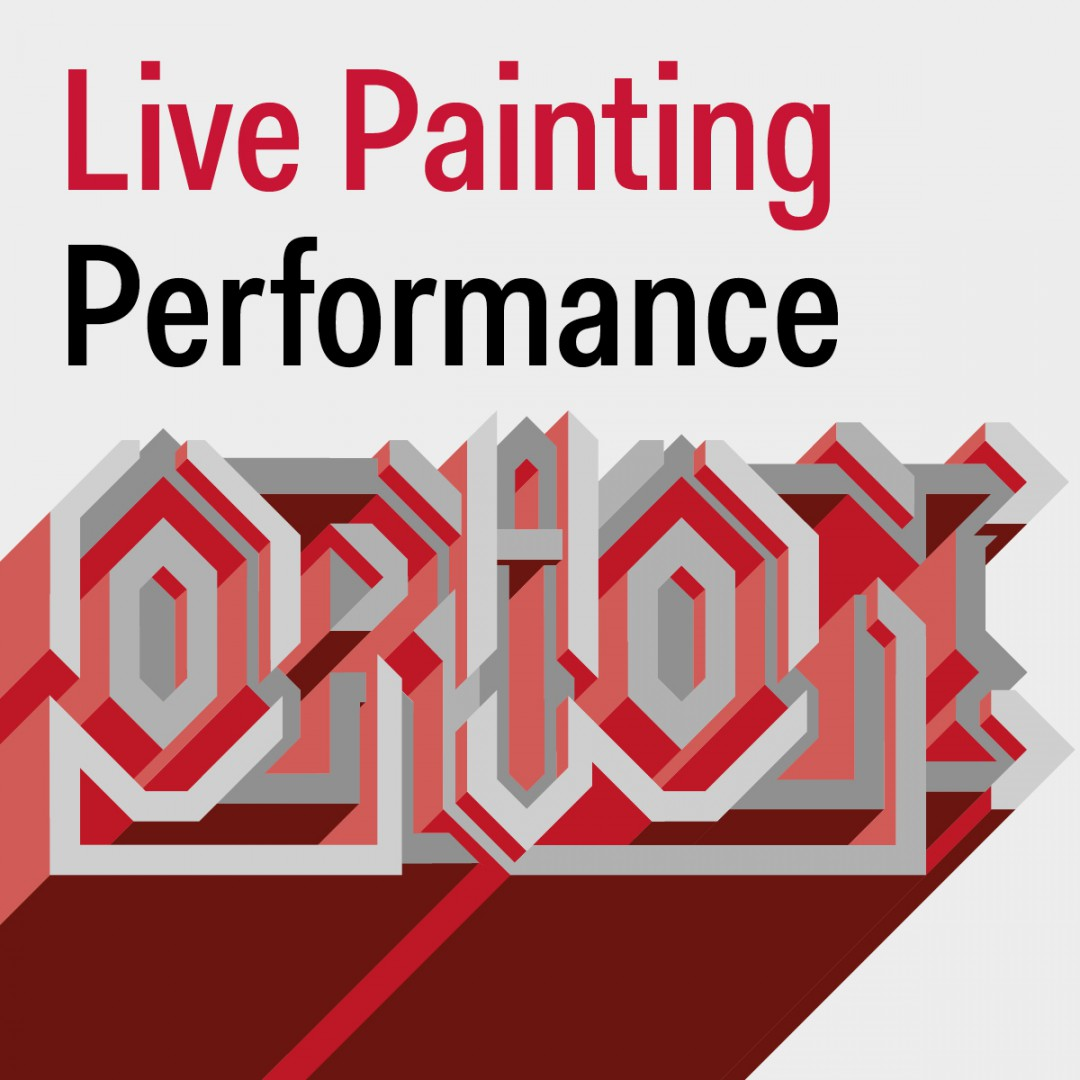 Live Painting Performance: la street art di Orion al Tiziano