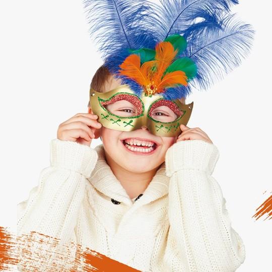 Carnevale con giochi e animazioni per bambini