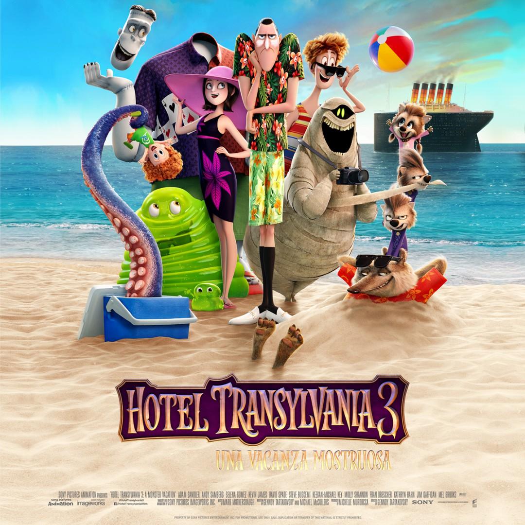 Mummia e Frankenstein di Hotel Transylvania 3 al Tiziano!