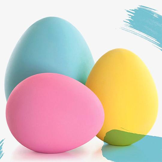 Uova giganti e animazioni per bambini!