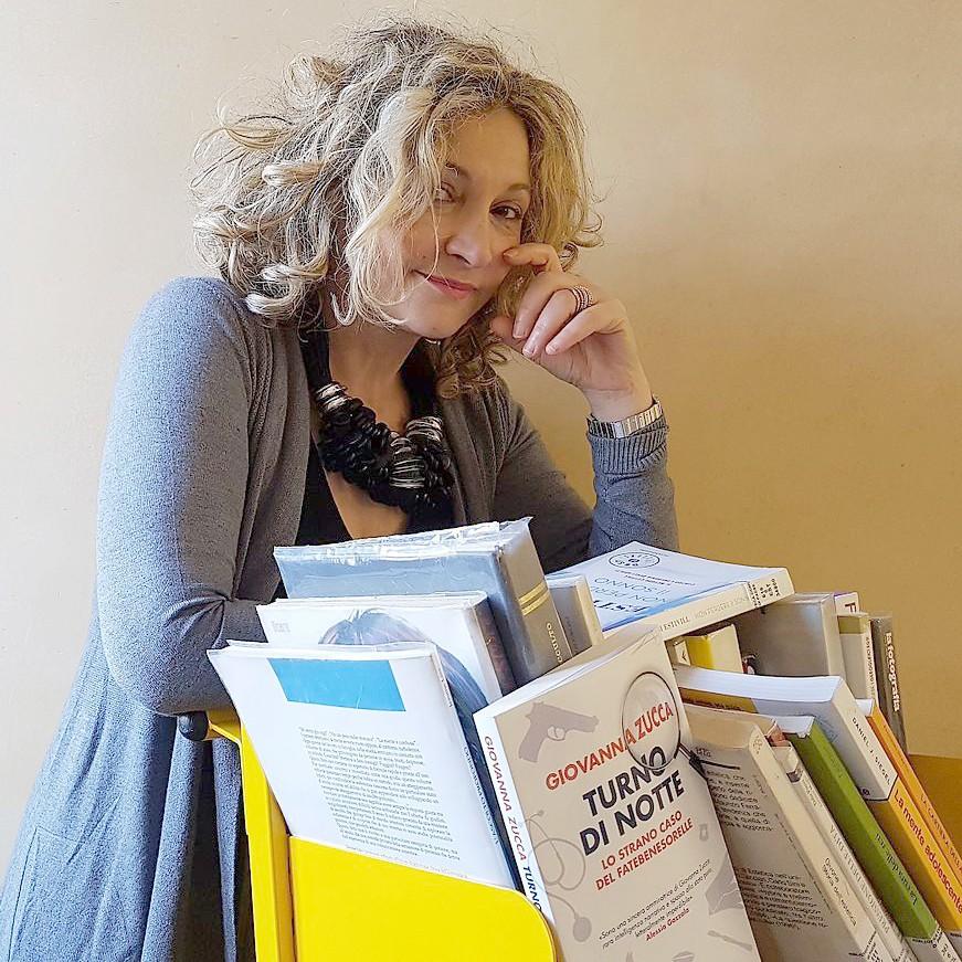 """Aperitivo letterario con Giovanna Zucca, autrice del libro """"Turno di notte"""""""